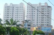 Cần cho thuê gấp căn hộ 203 Nguyễn Trãi Quận 1, Dt: 76m2, 2PN, giá: 11 tr/tháng, DT: 100 m2, 3PN