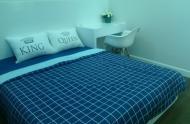 Cho thuê CHCC 1 phòng ngủ The One, ngay chợ Bến Thành, nội thất Châu Âu, 25 tr/th. LH 0943952916