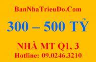 Bán dự án khách sạn mặt tiền đường 4 sao, 20 Cao Bá Quát, P. Bến Nghé, quận 1