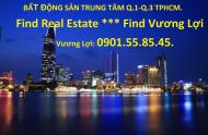 Bán nhà MT đường Tôn thất tùng P.bến thành. Q.1. 4x21m, trệt, 3 lầu. giá 29 tỷ.