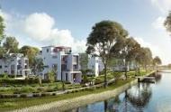 Biệt thự ven sông 4 mặt thoáng, khu tiện ích lớn nhất khu vực, trong khu dân cư cao cấp, 300m2, 8 tỷ