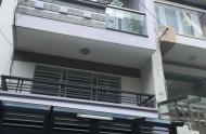Cho thuê nhà mặt tiền TK 24 Nguyễn Cảnh Chân, Q1, nhà 4 lầu mới. Giá 35 tr/th