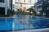 Chính chủ vui tính cho thuê căn hộ 1pn Vinhomes Central Park view hồ bơi, 2 ban công tầng 8 giá rẻ