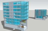 Cho thuê mặt bằng 160m2 làm văn phòng khu vực gần sân bay. LH 931713628
