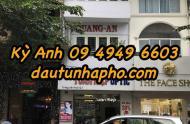 Bán nhà MT Trần Cao Vân, quận 1. Giá 275 tỷ trệt, lầu, cho thuê 620tr/tháng