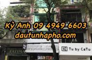 Cần bán nhà MT cực vip Trần Cao Vân, quận 1, nhà 9.2x29m nở hậu 9.45m, giá 80 tỷ