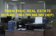 Cho thuê văn phòng đẹp MT Trần Hưng Đạo, Q. 1, 27- 40m2, 13 triệu/tháng bao thuế phí điện lạnh