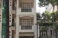 Nhà cho thuê mặt tiền Nguyễn Cư Trinh, 4m x 20m, trệt, 2 lầu, sân thượng. 45 triệu/tháng