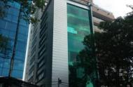 Cho thuê nhà MT Lý Tự Trọng, Q.1, gần chợ Bến Thành, DT: 4.5x32m, 1 hầm, 1 trệt, 4 lầu, ST