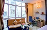 Cho thuê nguyên căn kinh doanh căn hộ dịch vụ hẻm rộng, 9 phòng, full nội thất