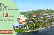 Kai Village and Resort biệt thự nghỉ dưỡng ven Hà Nội. Nhận cơ hội nhận chuyến đi du lịch tại Nhật