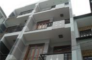 Nhà hẻm 10m Trần Hưng Đạo, Q1. DT: 7x30m, 1 lầu, GPXD: Hầm + 7 lầu