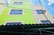 Nhà Bình Thạnh 4 tầng  49m2 đẹp tuyệt vời giá chỉ 120tr/m2.