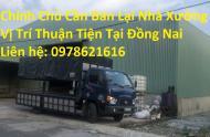 Chính Chủ Cần Bán Lại Nhà Xưởng Vị Trí Thuận Tiện Tại Đồng Nai
