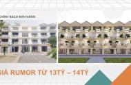 13 tỷ - Bán biệt thự Bình Tân,  mặt tiền đường số 18, Khu Tên Lửa, 5x20m, 3 tầng, 5PN, gara, 02 sân vườn