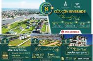 BÁN GẤP-LÔ GÓC ĐẸP NHẤT dự án Cửa Cờn Riverside-Hoàng Mai-3 mặt view sông-Giá:1,2 tỷ-0914200366
