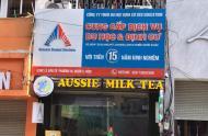 CẦN SANG LẠI QUÁN GẤP Trà sữa Aussie Milk Tea Mặt bằng quận 3: Địa chỉ 534c Lê Văn Sỹ Phường