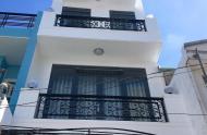 Bán nhà ngay trường tiểu học Nguyễn Văn Thệ Tô Ngọc Vân quận 12 , 1 trệt 3 lầu 1 lửng , đường xe