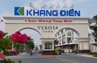 Bán nhà phố Verosa Khang Điền 1 trệt 3 lầu, DT 5x15, 5x17, 5x20