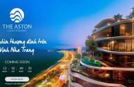 Căn hộ hạng sang Aston Nha Trang, mặt tiền Trần Phú, sở hữu lâu dài